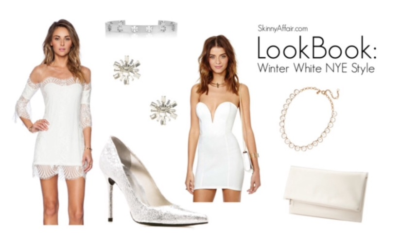 Look Book: Winter White New Year's Eve Style